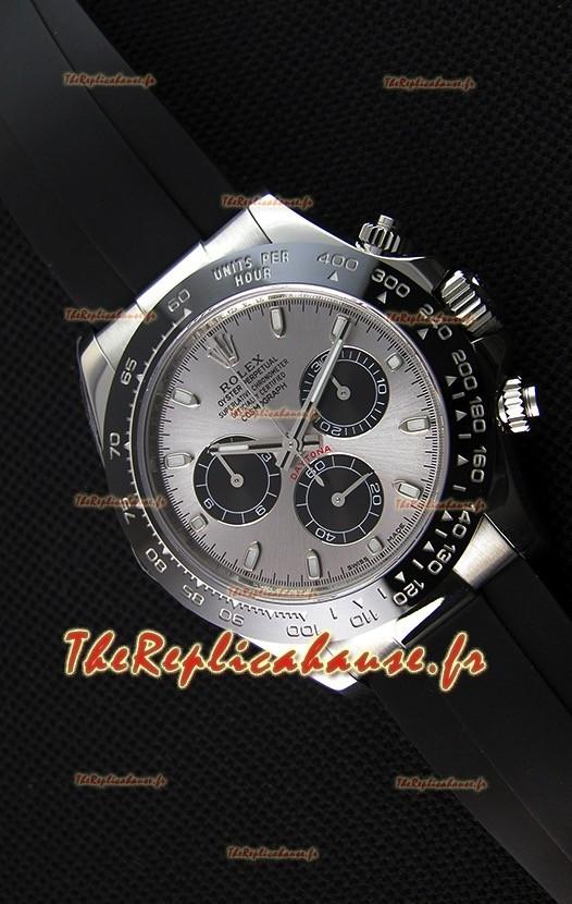 Montre Rolex Cosmograph Daytona 116519LN, Cadran Noir et acier, MouvementCal.4130 Original — Montre en acier ultime 904L