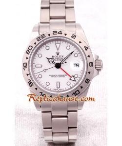 Rolex Replique Explorer II -Silver