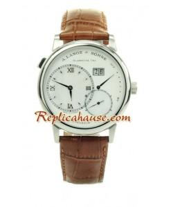 A. Lange & Sohne Grand Lange 1 Leather Montre