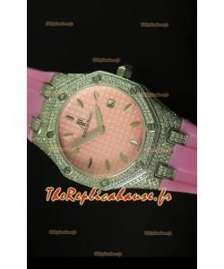 Montre Rotal Oak Audemars Piguet pour femmes rose