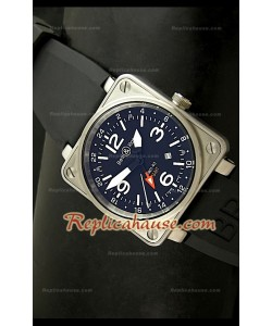 Bell and Ross Instrument BR01-93 GMT Montre