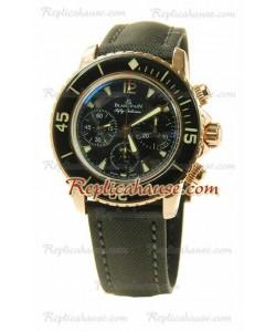 Blancpain Fifty Fathoms Flyback Chronograph Montre Suisse Replique