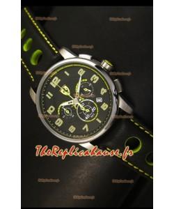 Montre chronographe Scuderia Ferrari Heritage avec boîtier acier
