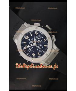 Réplique de montre suisse avec revêtement acier inoxydable Hublot Big Bang - Réplique miroir 1:1