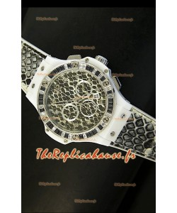 Montre Hublot Big Bang Snow Leopard Édition MARIA HOFL -RIESCH Edition 34mm