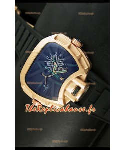 Montre japonaise Hublot Big Bang MP 02 Édition Key of Time dans boîtier or rose