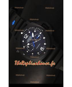 Réplique de montre japonaise Panerai Luminor Submersible PAM615 Flyback