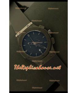 Hublot Vendome Chronograph PVD Japanese Montre - Repères Noirs