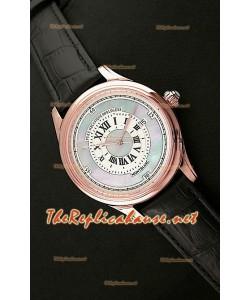 Mont Blanc Mechanique Horlogere Montre Suisse avec Cadran Nacré Or Rose