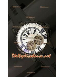 Roger Dubuis Excalibur Chronoexcel Dual Tourbillon avec Boîtier PVD