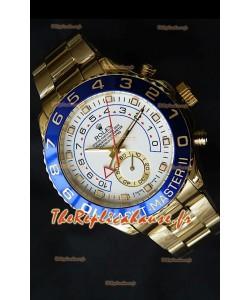 Rolex Imitation Yachtmaster II Montre Suisse Or Jaune - Montre Imitation Exacte 1:1