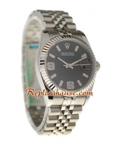 Rolex Replique Datejust Silver Montre