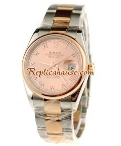 Rolex Replique Datejust Suisse Two Tone Montre