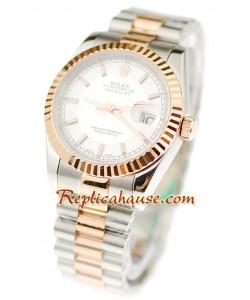 Rolex Replique Datejust Two Tone Montre