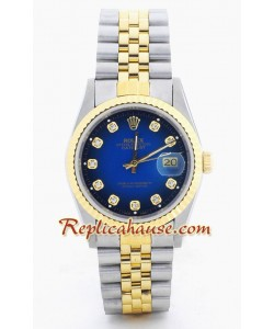 Rolex Replique DateJust Montre - Two Tone