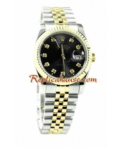 Rolex Replique Datejust Hommes Montre - Pink d' or