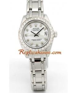 Rolex Replique DateJust - Silver Lady's