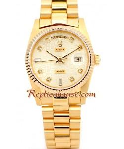 Rolex Replique Day Date-d' or