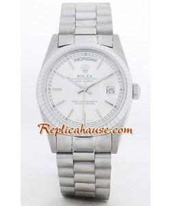 Rolex Replique Day Date-Silver