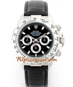 Rolex Replique Daytona Leather Femmes 33MM
