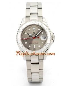 Rolex Replique Yacht Master Silver - Boy Size