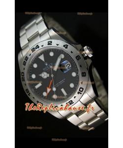 Rolex Imitation Explorer II Reproduction Montre Suisse - Index Heures Super Lumineux 42MM