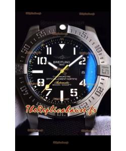 Breitling Avenger II Seawolf Airblack montre réplique suisse 1:1 montre réplique suisse ultime