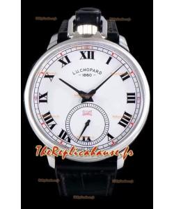 Chopard Louis-Ulysse L'hommage montre suisse en acier inoxydable cadran blanc