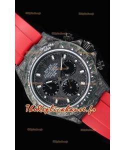 Rolex Cosmograph Daytona DiW montre réplique à miroir 1:1 avec boîtier forgé en carbone