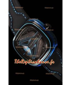 SevenFriday M3/01 Vaisseau Spatial avec mouvement MIYOTA original - qualité à miroir 1:1