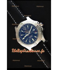 Montre Breitling Chronomètre COLT41 Suisse automatique à cadran bleu Réplique