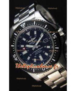 Montre Breitling SuperOcean44 Suisse en acier spécial avec bracelet en acier Réplique