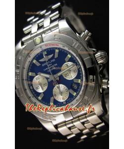 Montre Breitling ChronomatB01 Suisse Version Miroir Ultime Cadran bleu Repliquée à l'identique 1:1