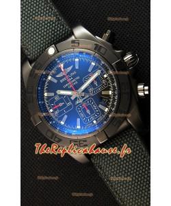 Breitling Chronomat 44 Acier Noir Réplique Suisse Revêtement DLC 1:1 Miroir Montre Suisse