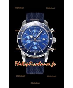 Breitling SuperOcean Heritage II 44MM Montre réplique suisse à cadran bleu