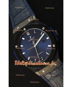 Montre Hublot Classic Fusion Suisse en Céramique bleu Réplique à l'identique 1:1