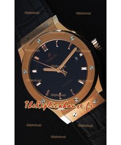 Montre Hublot Classic Fusion King Gold Suisse Réplique à l'identique 1:1