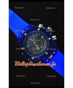 Hublot Big Bang Unico Montre Réplique à quartz 45MM Saphir Bleu