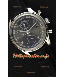 Montre IWC Portugieser Chronograph ClassicIW390302 Cadran Gris Réplique
