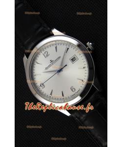 Montre Jaeger LeCoultre Master Control Date Suisse REF# 1548420 Répliquée à l'identique 1:1