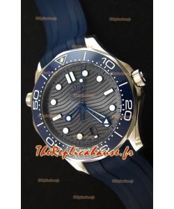 Omega Seamaster 300M Co-Axial Master chronomètre Gris Suisse 1:1 Montre Réplique Miroir
