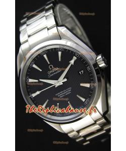 Omega Master Co-Axial Aqua Terra 150M cadran noir 1:1 Miroir Réplique Suisse