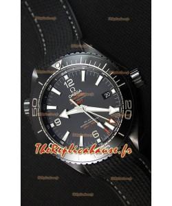 Omega Seamaster Planet Ocean Deep Black GMT 45.5MM 1:1 Montre Réplique Miroir