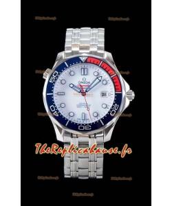 Omega Seamaster Diver 300M 007 Commander's Edition Swiss 1:1 Mirror Watch 904L Steel