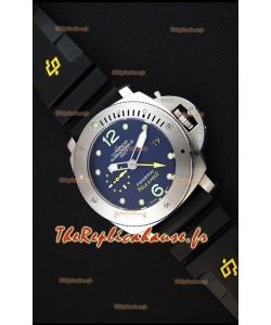 Montre Luminor SubmersiblePAM00719 1950 Japonnaise 3 Jours GMTPole2Pole Répliquée