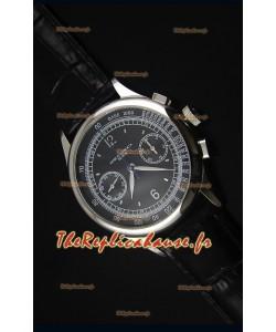 Montre Replica Suisse Patek Philippe Complications 5170G avec un Cadran Noir