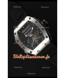 Montre Richard MilleRM069 Tourbillon Erotic Boîtier en acier inoxydable Répliquée