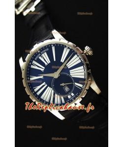 Montre Roger Dubuis ExcaliburRDDBEX0378 Suisse avec Etui en acier bleu Répliqué