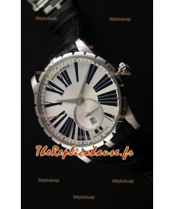 Montre Roger Dubuis ExcaliburRDDBEX0460 Suisse avec Etui en acier Blanc Répliqué