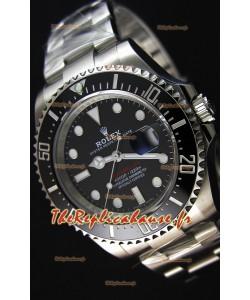 Montre Rolex Sea-Dweller 50h Anniversary REF# 126600 Suisse Répliquée à l'identique 1:1 — Montre Ultime en acier904L